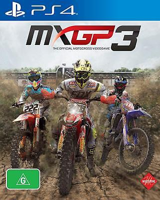 MXGP3 PS4 Playstation 4 Game Brand New In Stock From Brisbane