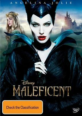 Maleficent DVD Genuine, Disney New Sealed Australia Region 4