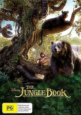 The Jungle Book 2016 Film DVD Disney New Sealed Australia Region 4