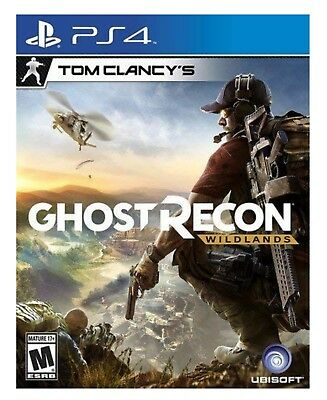 Tom Clancy's Ghost Recon Wildlands * Playstation 4 * Brand New Factory Sealed!
