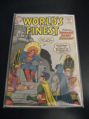 WORLD'S FINEST #111 (DC, 1960) Superman/Batman (FN)