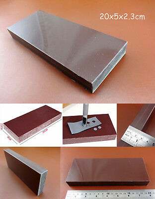 Stamp DIY Cutting Punching Leather Craft Tools Board Plastic Mallet Mat Pads N3