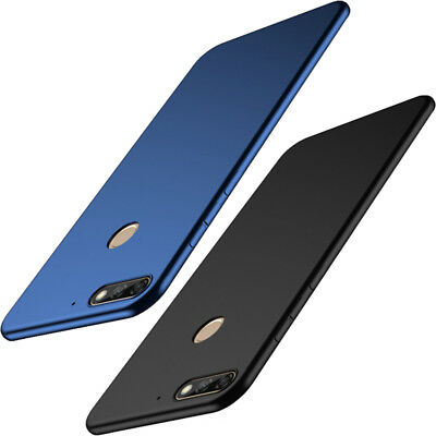 For Huawei Y9 Y7 Pro Y6 Y5 Prime 2018 Silicone Soft TPU Matte Thin Case Cover