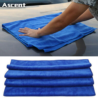 Open-Minded 10x Blue Microfiber Cleaning Auto Car Detailing Soft Cloths Wash Towel Duster Ebay Motors