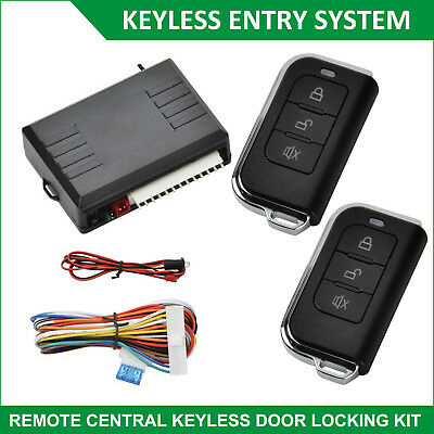 Universal Car Door Remote Central Locking System Auto Security Keyless Entry Kit