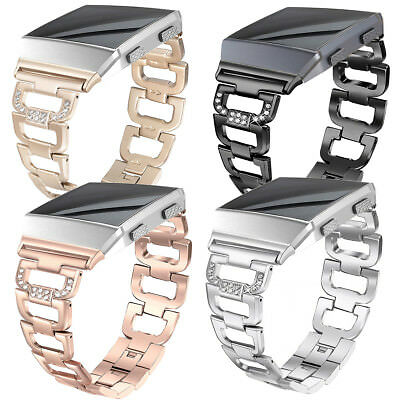 For Fitbit Ionic Luxury Bling Stainless Steel Watch Wrist Band Strap Bracelet