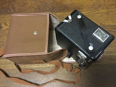 Nice BROWNIE FLASH II  -Old Kodak Vintage Box Camera c1941 - ENGLAND