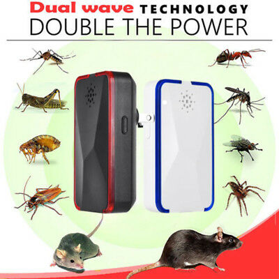 Pest Repeller-Ultrasonic-Electronic Mouse Rat Mosquito Insect Rodent Control