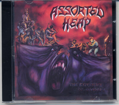 """Assorted Heap """"The Experience Of Horror"""" 1991, CD"""