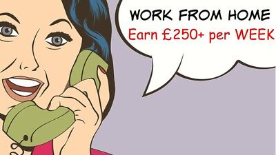 Make £250+ Per Week / Work From Home / Online Business / Make Money / Earn Money
