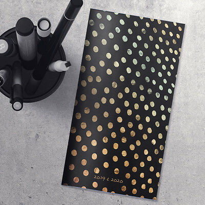 2019-2020 Dots 2-Year Pocket Planner