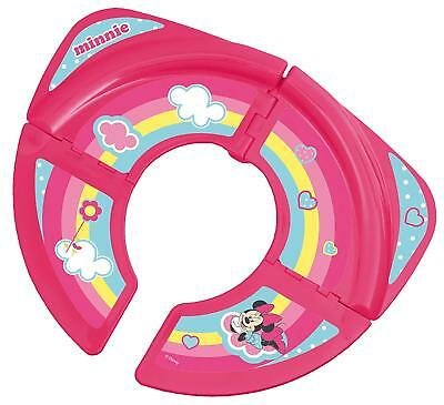 Foldable Disney Baby Minnie Mouse Travel Toilet Training Seat