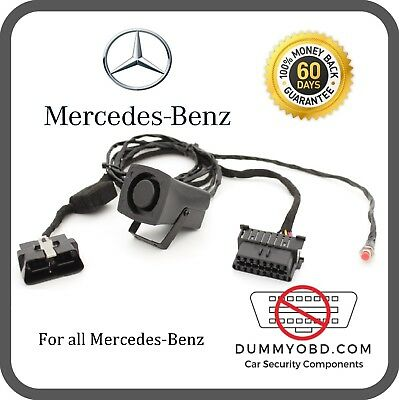 Mercedes-Benz ALL MODELS DUMMY FAKE OBD PORT POWERED SIREN Anti Theft Security
