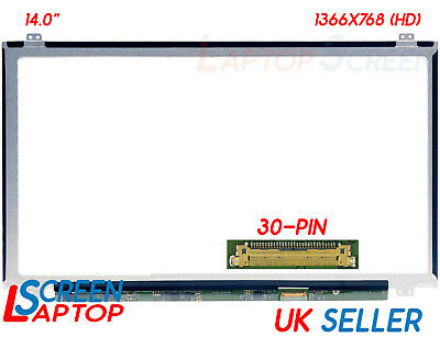 "Replacement HP Compaq Stream 14-AX000NA Laptop Screen 14"" LCD HD Display Glossy"