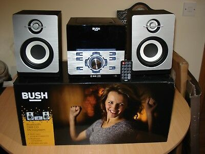 BUSH Bluetooth DAB CD Micro System BD-628