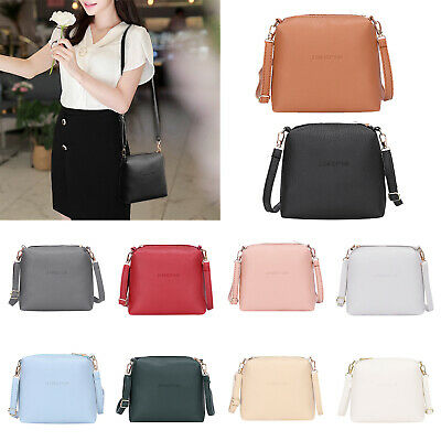 Women PU Leather Shoulder Bag Crossbody Messenger Bags Purse Satchel Mini Casual