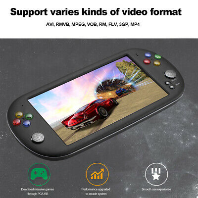 X16 Handheld Game Video Game Console with Double Rocker For GBA NES Games A5W0