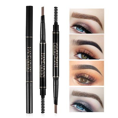 5 Colors Eyebrow Pencil Waterproof Automatic Long-lasting 2 Heads Eyebrow Pen BH