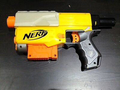 Nerf Gun Recon CS-6 Gun Blaster with 6 Dart Magazine with 6x Ammo Bullets