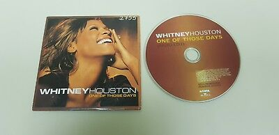818- Whitney Houston One Of Those Days Cd Radio Edit  Promocional Envio Economic