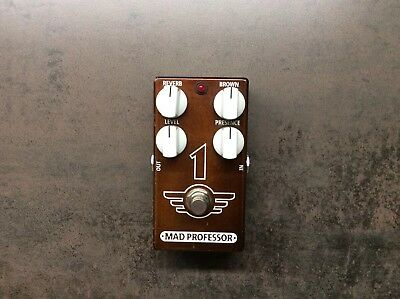"""Mad Professor 1 - """"One"""", Distortion & Reverb-Pedal (Brown Sound)"""