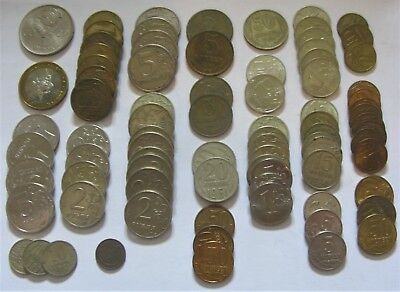 Mixed Lot of Russian Kopek & Rouble Coins