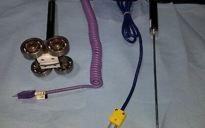 Omega Roller Thermocouple Probes