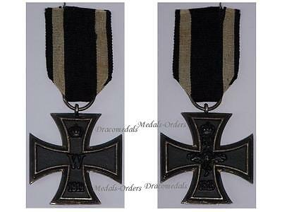 GErmany WW1 Medal Iron Cross EK2 Mkr Fr Military Decoration WWI 1914 1918 German