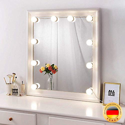 Binen Hollywood Stil LED Kosmetikspiegel Kit Schminktisch Licht, Spiegel LED-Li