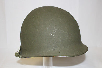 Wwii Us Army M1 Officer Combat Helmet With Westinghouse Liner