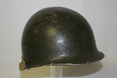 Wwii Us Army M1 Nco Combat Helmet With Westinghouse Liner
