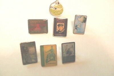 Barbour- Assortment Of 7 Pin Badges