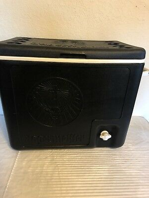 Jagermeister Cooler Ice Chest Shots Tap Dispenser Cups Black