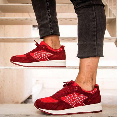 Asics Gel Lyte Speed Trainers Size UK 7 Brand New Boxed EU 40.5 Red Burgundy