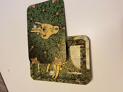 """Premium Rolling Tray With magnetic cover lid 8""""x11"""""""