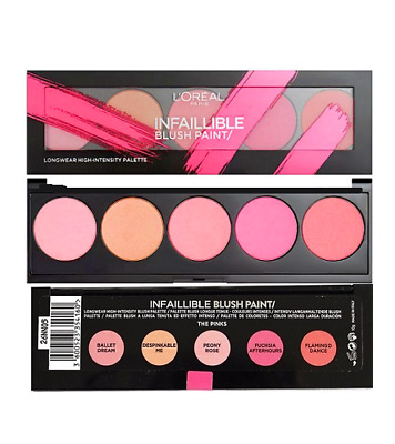 L'Oreal Infallible Blush Paint Palette Pinks