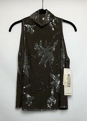 Women's George Gross Sequin Top, NEW with tags, Retail $499