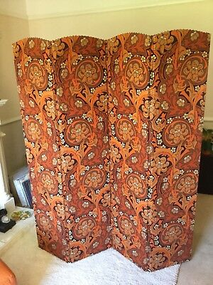 Retro Vintage 60s/70s Room Divider Screen Stunning Condition
