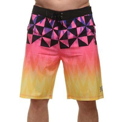 8b0ba661280a1 Hurley Phantom Bula Boardshorts Laser Orange Hurley Men's Clothing Shorts