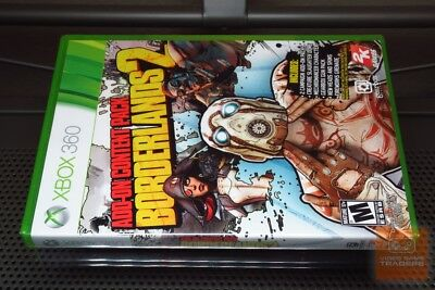Borderlands 2: Add-On Content Pack (Xbox 360 2013) FACTORY SEALED! - EX!