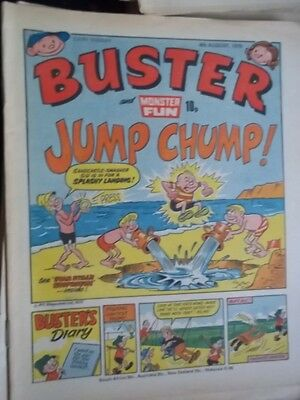 Buster & Monster Fun Comic.[ 4Th Aug 1979].