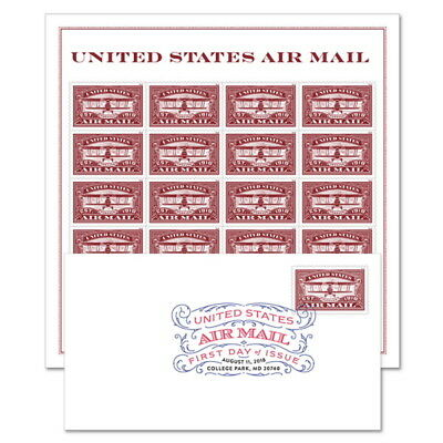 USPS New United States Air Mail (Red) Keepsake