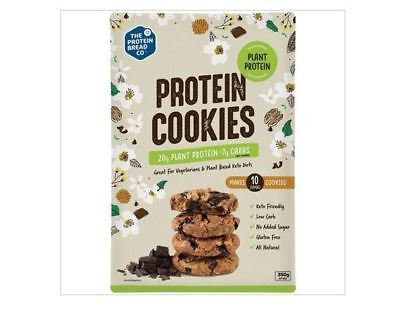 3 x 350g THE PROTEIN BREAD CO. Protein Cookies Plant Protein