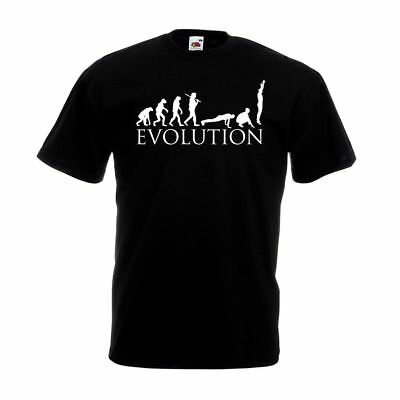 Evolution Burpees T Shirt Funny Gym Personal Trainer Christmas Birthday Gift Top