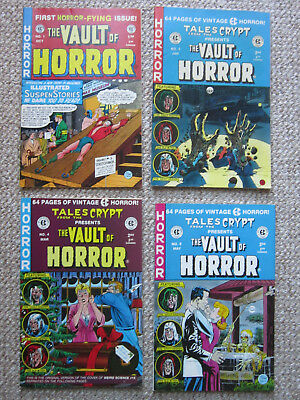 Tales from The Crypt Presents - The Vault of Horror - EC comics 4 Issues