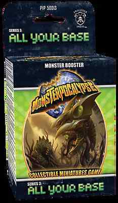 Monsterpocalypse Series 3 All Your Base Case SEALED