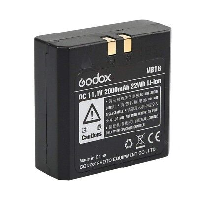 2018 Godox VB18 Li-ion Battery for V850 V860 Flash Speedlite Speedflash