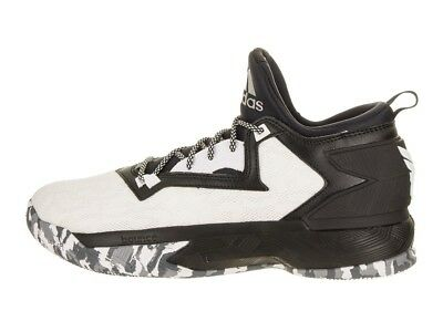 premium selection 7bf51 7ea94 ... Mens Adidas D Lillard 2 Basketball Shoes Size 9.5 - 15 Black White  B42376 Damian ...