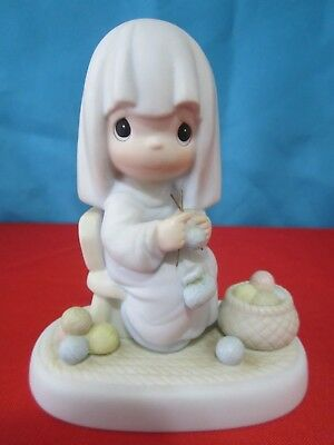 Precious Moments: Jesus Is Coming Soon Porcelain Figurine -1985- 121343