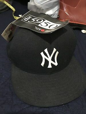 f7ec535489d7f ... france vintage deadstock nwt 80s new york yankees new era 59 50 hat 100  wool made